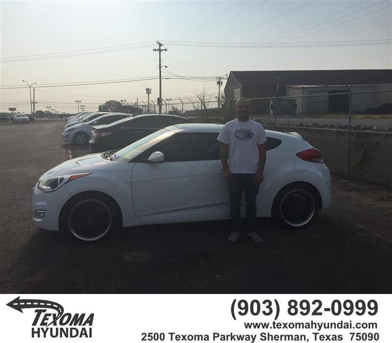 https://flic.kr/p/LzFAC4 | Happy Anniversary to Zach on your #Hyundai #Veloster…