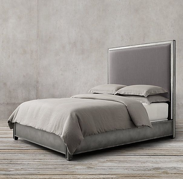 Strand Upholstered Bed Without Footboard