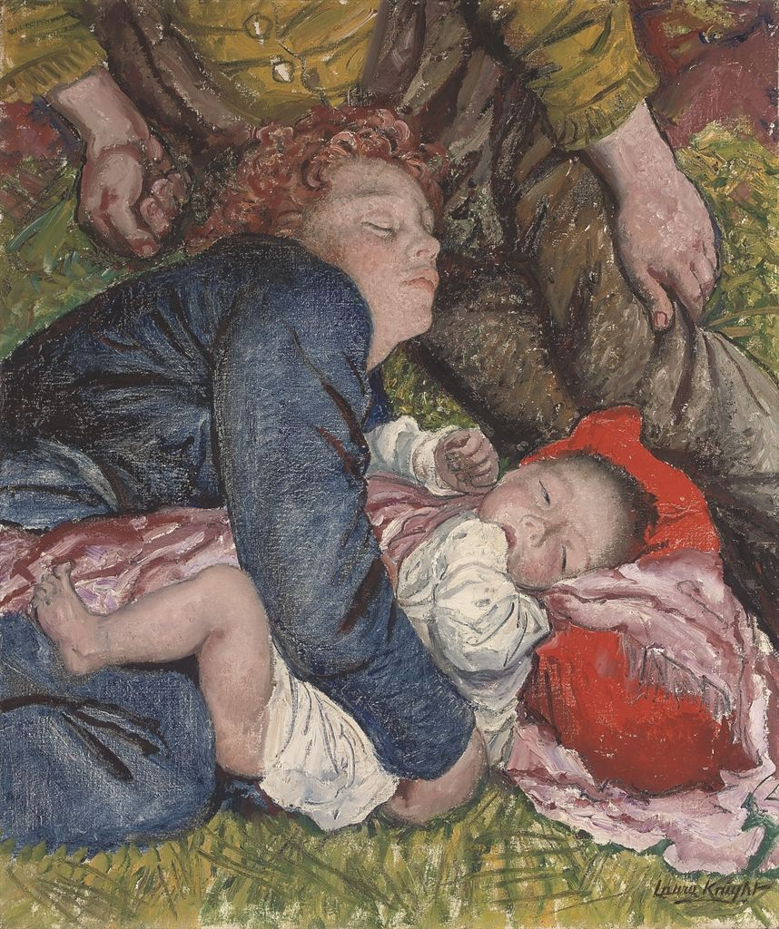 DAME LAURA KNIGHT, R.A., R.W.S. (1877-1970) SUNDAY AFTERNOON IN HYDE PARK
