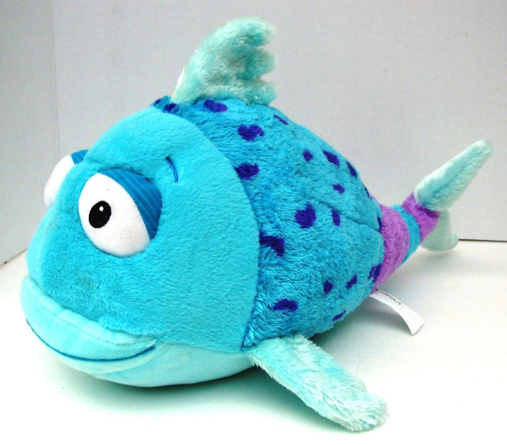 Cartoon fish coloring pages fish pouting fish sleepy cartoon fish - 15 Kohls Cares Blue Pout Pout Fish Plush Deborah Diesen Stuffed Animal Toy