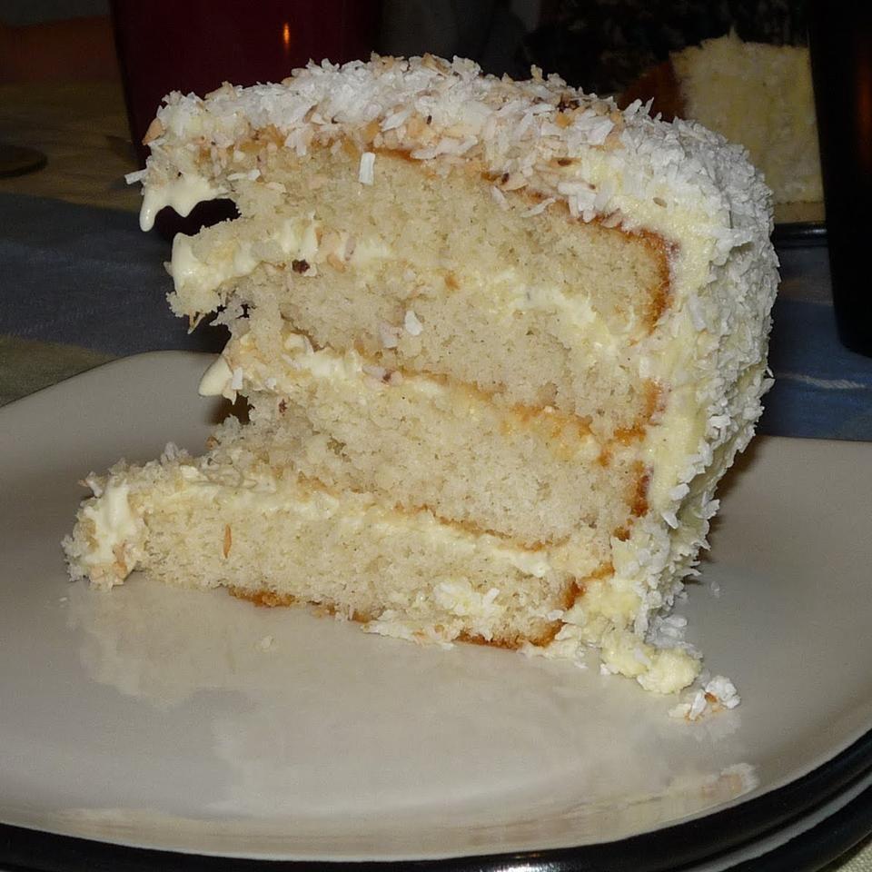 Photo of Brazilian-Style Moist Coconut Cake