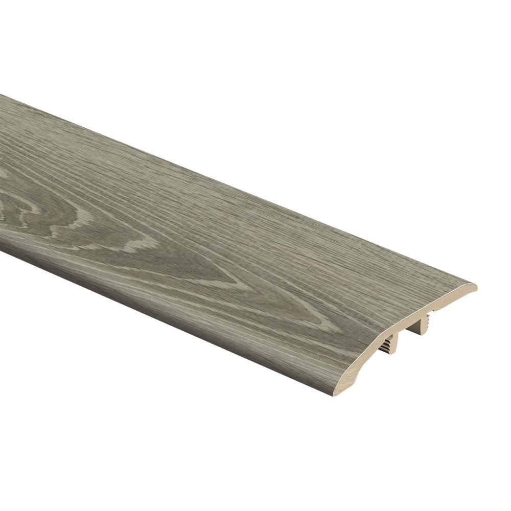 Zamma Sterling Oak Gray Birch Wood 1 3 In Thick X 1 13 16 In Wide X 72 In Length Vinyl Multi Purpose Reducer Molding 0157623691 The Home Depot Transition Flooring Vinyl Flooring Luxury Vinyl Tile Flooring