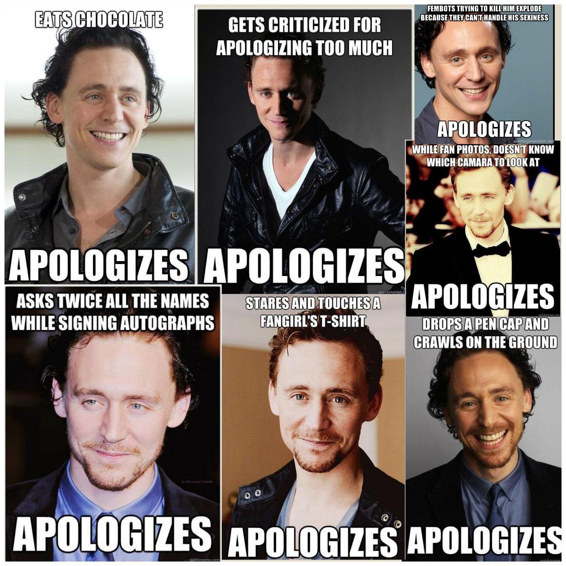 nice guy tom hiddleston he seems like such a sweet