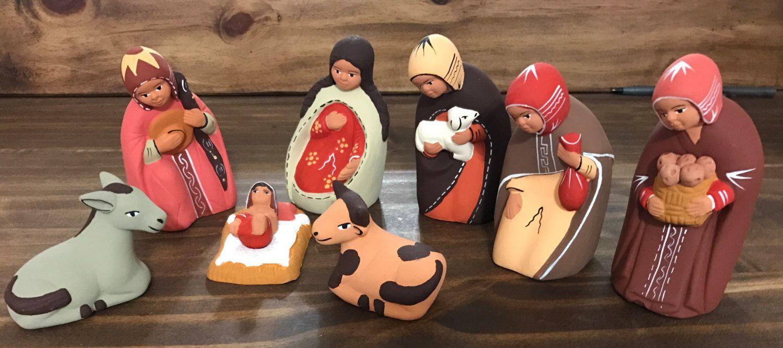 Un favorito personal de mi tienda Etsy https://www.etsy.com/es/listing/245715484/peruvian-nativity-set9-pieces