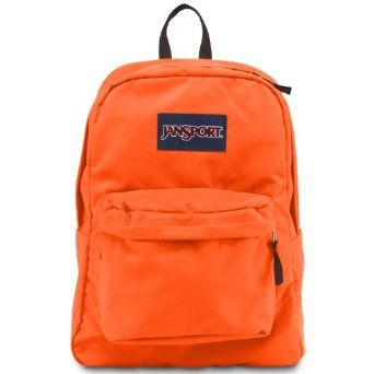 Amazon.com: JanSport Superbreak® Backpack Fluorescent Orange One ...