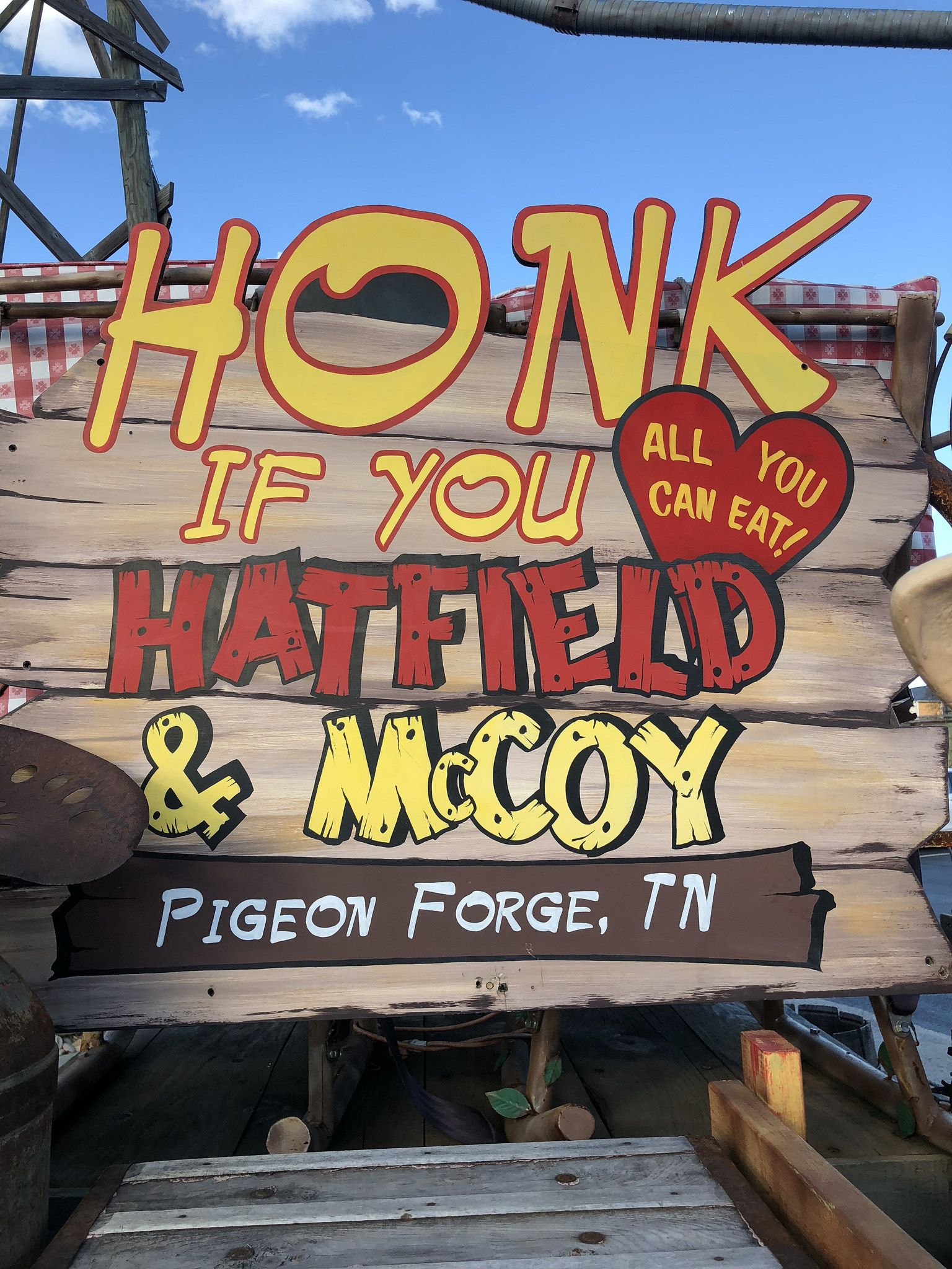 Honk if you hatfields and mccoys meal delivery service