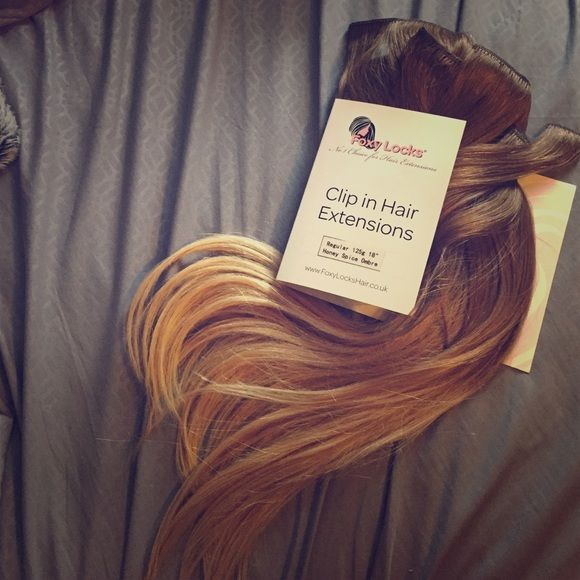 Foxy Locks Clip In Hair Extensions 18 Hair Extensions Extensions
