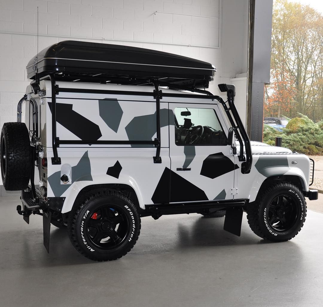 Inspired By Individuality Defenderredefined Antiordinary Landrover Redefined Defender Landroverdefender Iconic 4x4 Deta Land Rover Defender Power Motors Defender 90