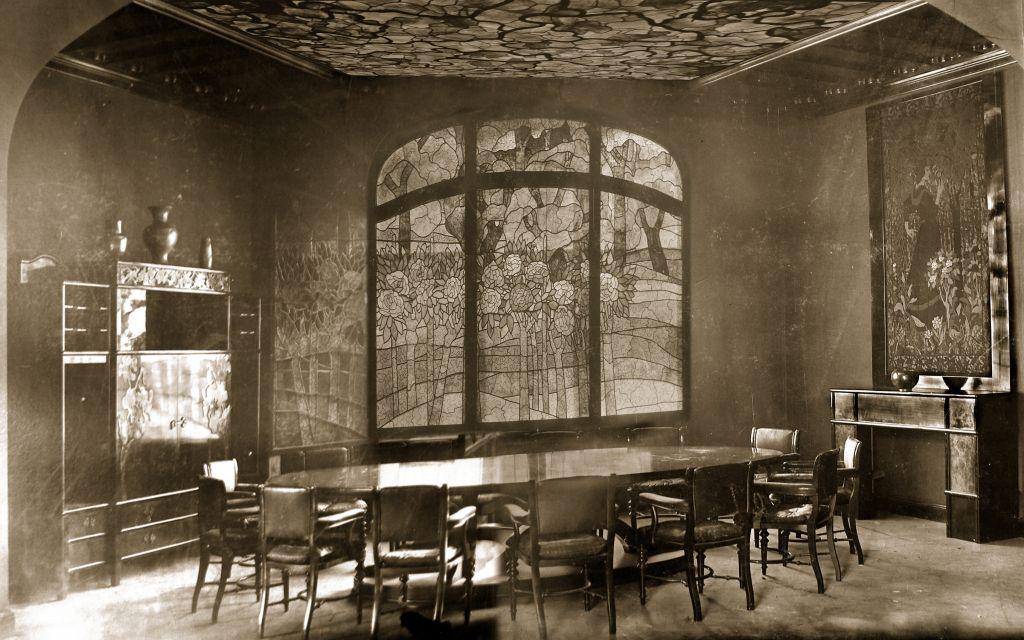 Az Andrássyebédlő, 1898as archív fotók alapján készült