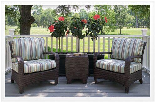 sunbrella what you should know about sunbrella fabric furniture rh pinterest com Lane Venture Outdoor Furniture outdoor chair upholstery fabric