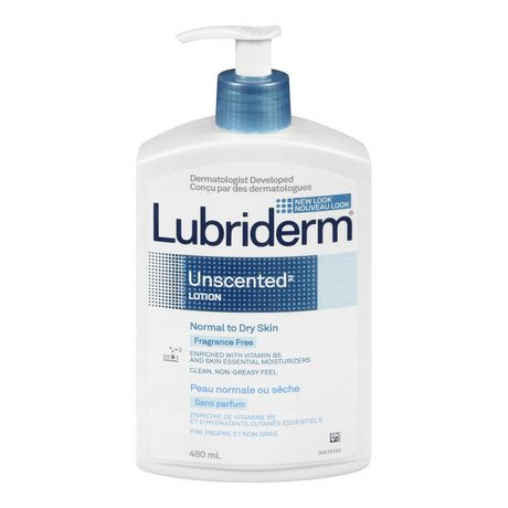 Lubriderm Unscented Normal To Dry Skin Fragrance Free Lotion