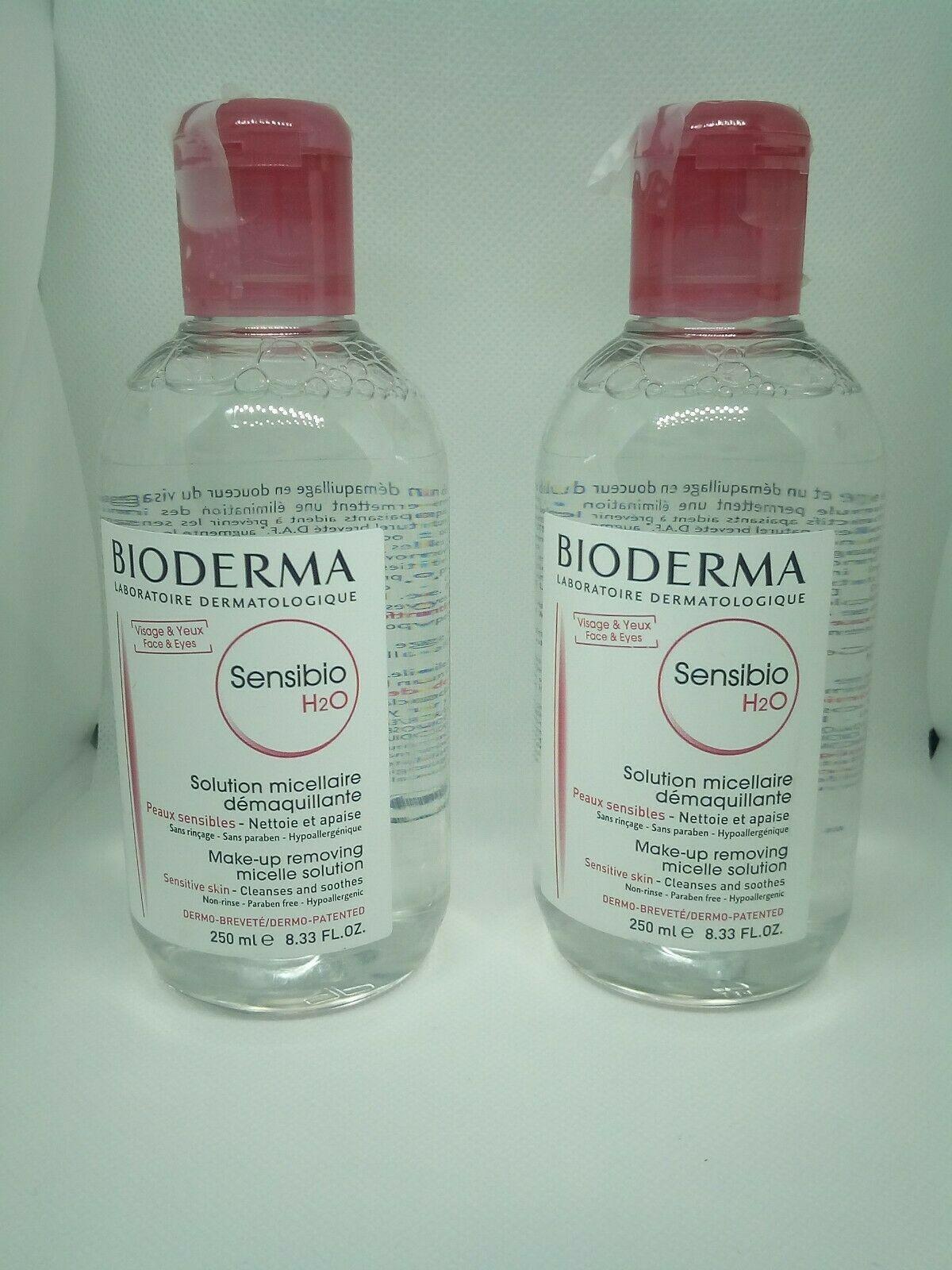 Bioderma Sensibio H2o Make Up Removing Micelle Solution 8 33oz