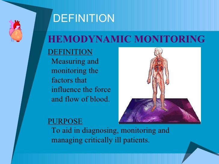 Hemodynamics Critical Care Nursing Nclex Study Guide Hemodynamic Monitoring