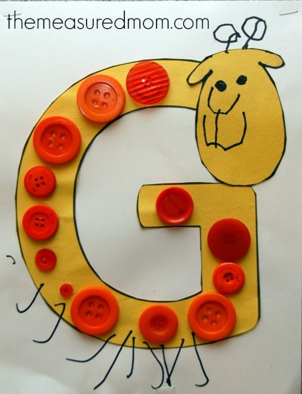 Simple Letter G Crafts For Toddlers And Preschoolers Education