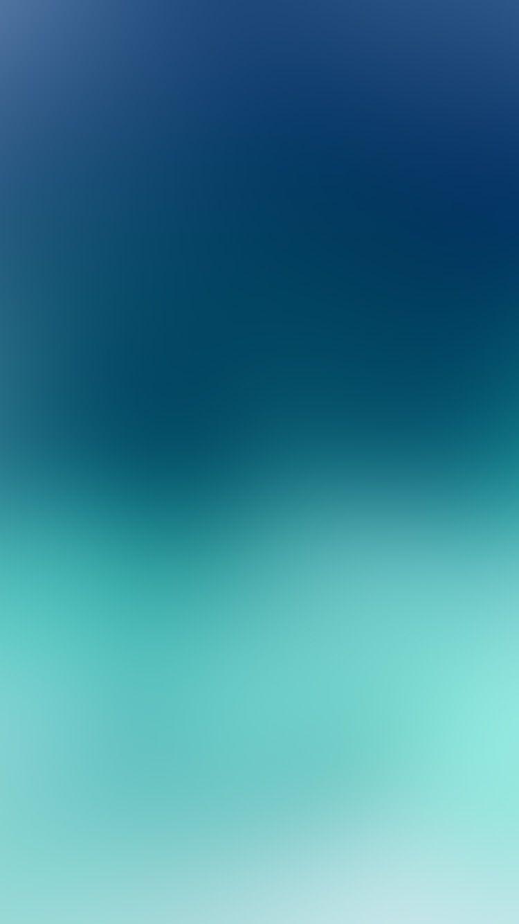 Sf28 sky blue cloudy gradation blur iphone 6 plus - Color gradation wallpaper ...