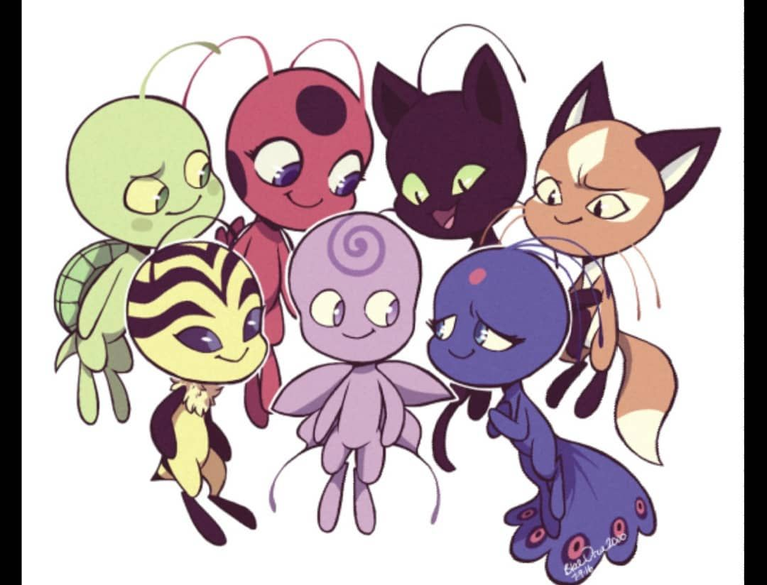 I Want A Kwami Theyre Just So Cool And Cute 2020 Kara Kedi Kedi Karakalem Cizimler