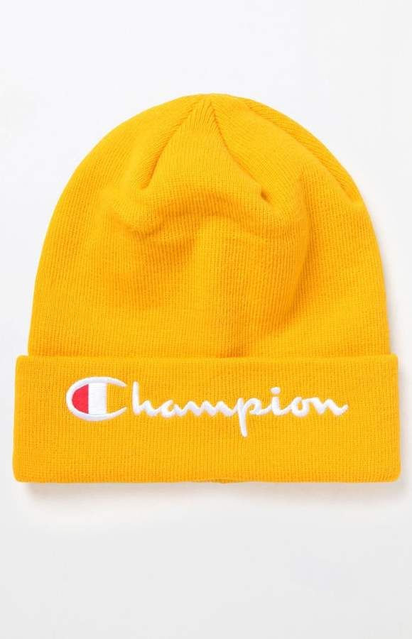 a84a136695d Champion Embroidered C Cuff Beanie