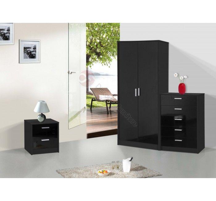 New High Gloss Black Set High Gloss Furniture Pinterest Black