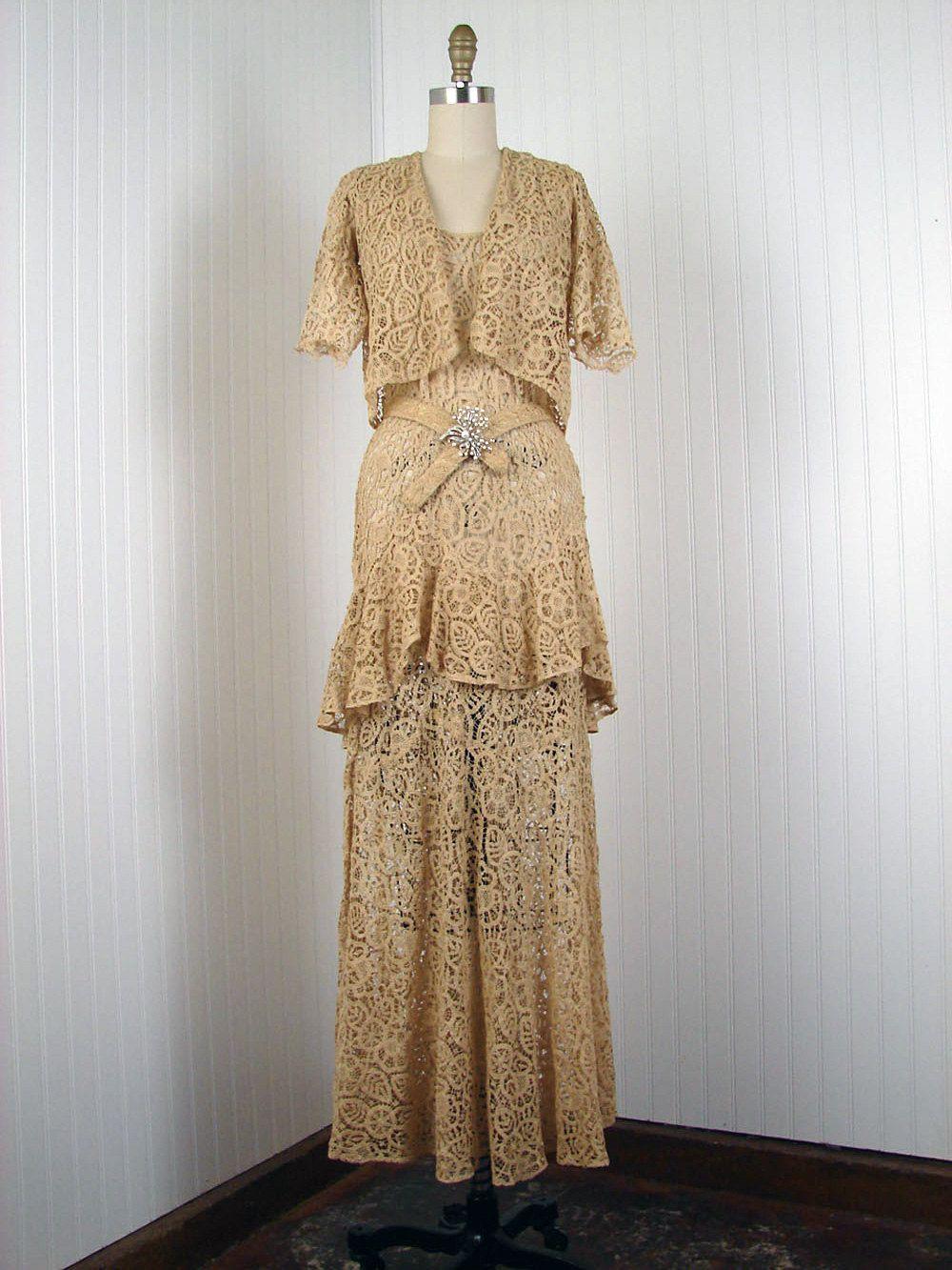 1920 wedding dress  s Wedding Dress  Wedded bliss  Pinterest  s wedding