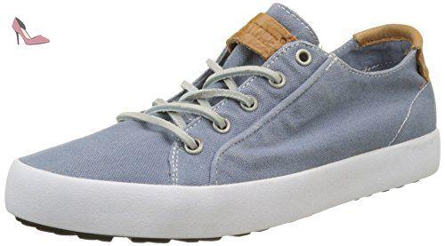 Blackstone JL56, Sneakers basses femmes - Bleu - Bleu indigo, Taille 38 EU  - Chaussures blackstone (*Partner-Link) | Chaussures Blackstone | Pinterest  | ...