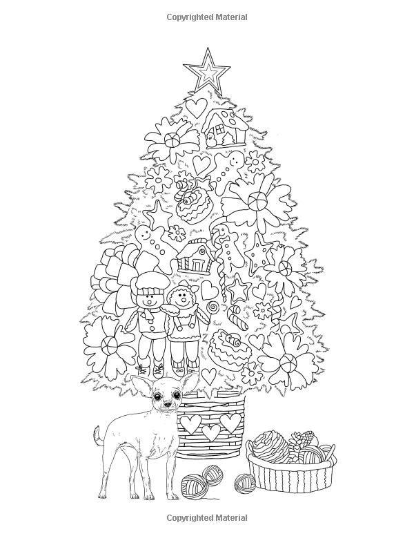 Los árboles de Navidad: Libro de colorante para adultos: feliz para ...