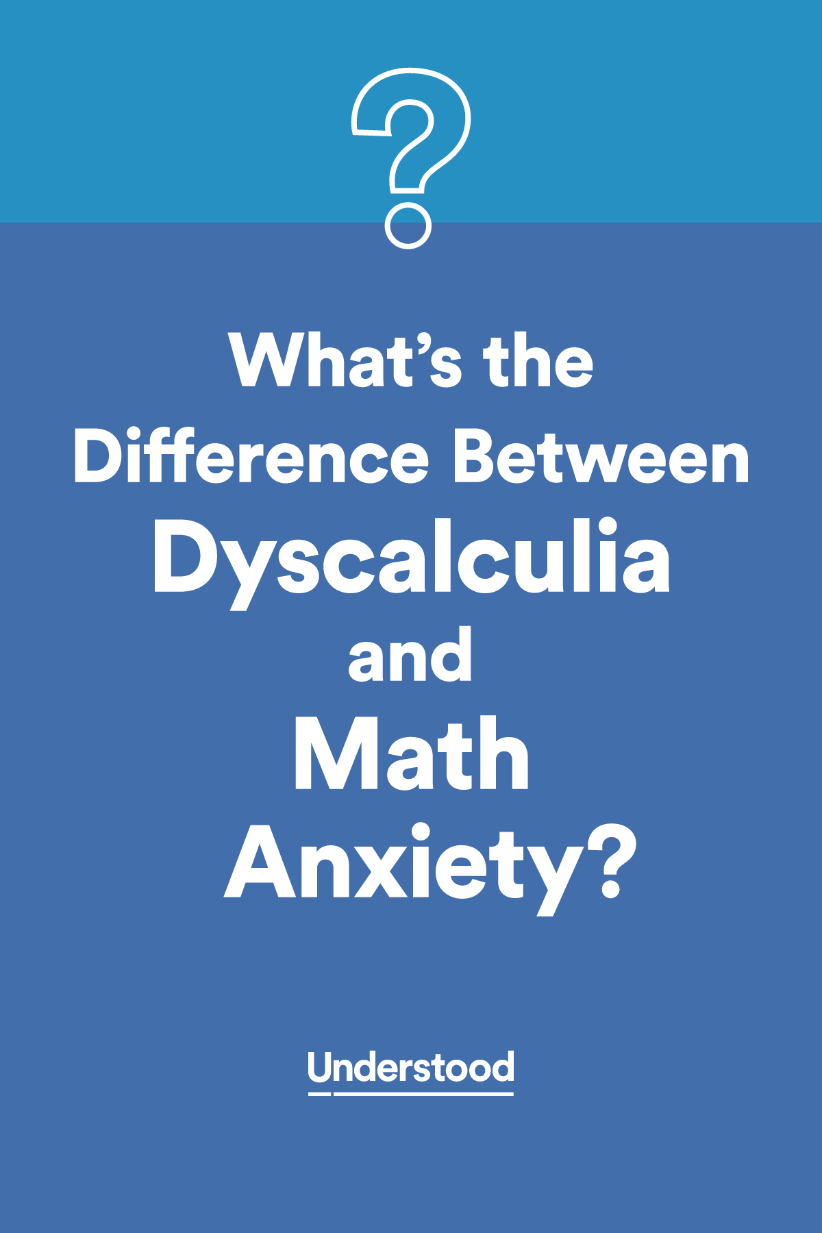 math anxiety Learning mathematics can be challenging however, not all mathematics difficulties result from cognitive difficulties some children and adults have mathematics anxiety (ma) which severely disrupts their performance.