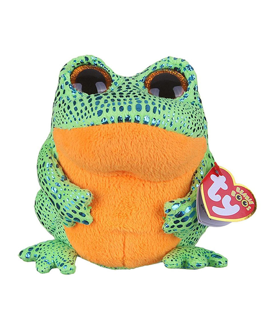 7c3d9b1da4e Take a look at this Speckles the Frog Beanie Boo today!