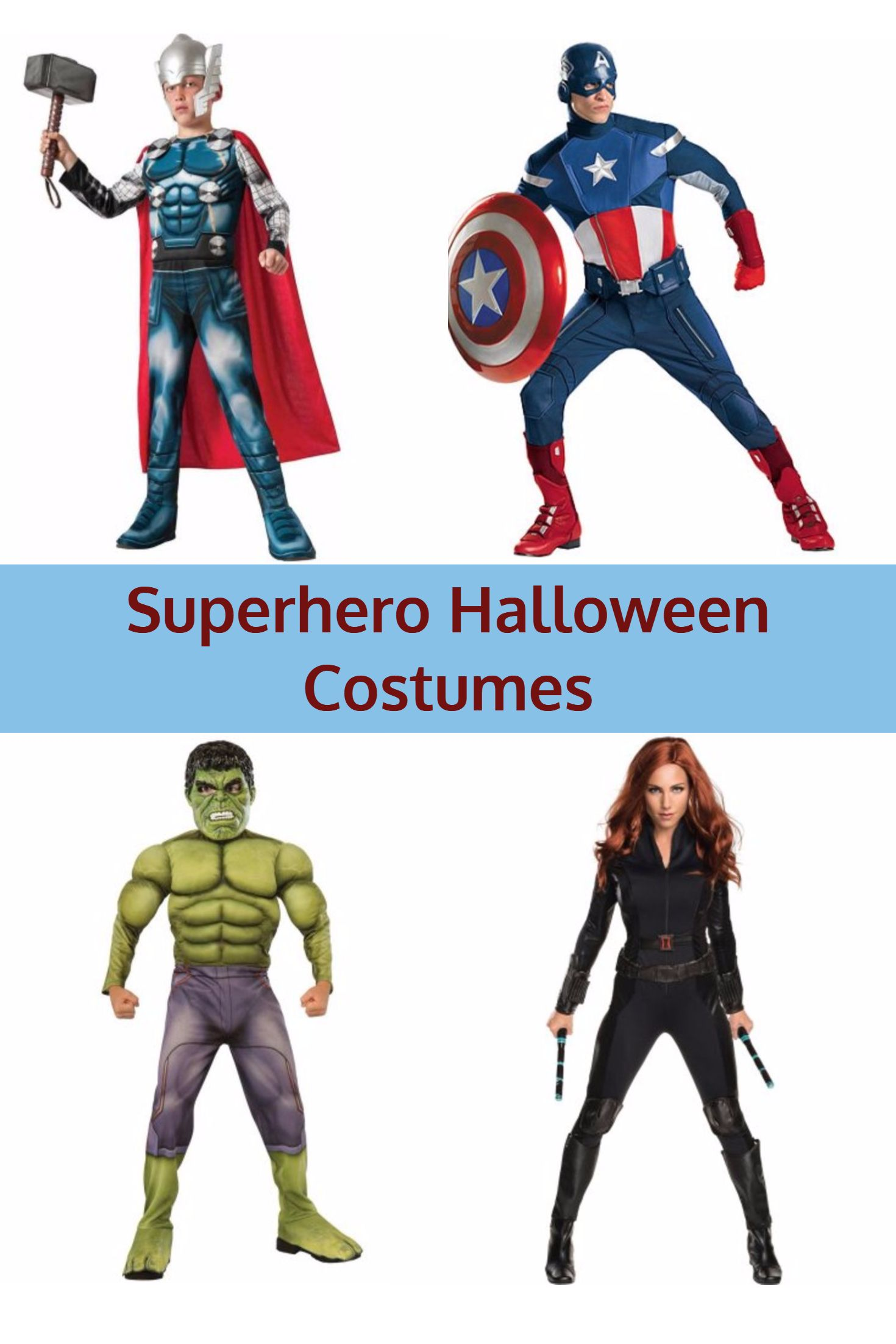 Halloween Costumes 2020 Heros Best Avengers Superhero Halloween Costumes 2020 | Kims Home Ideas