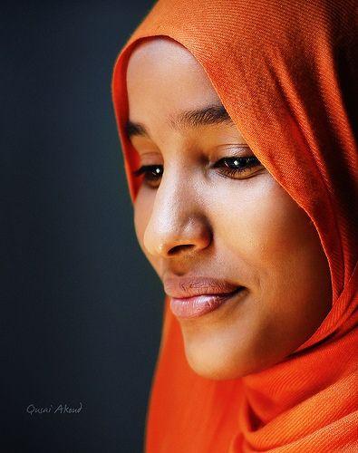 Sudanese woman.