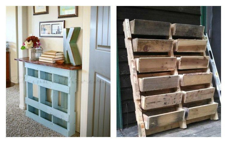 Recycler des palettes de bois en 65 idées créatives - Peindre Des Portes En Bois