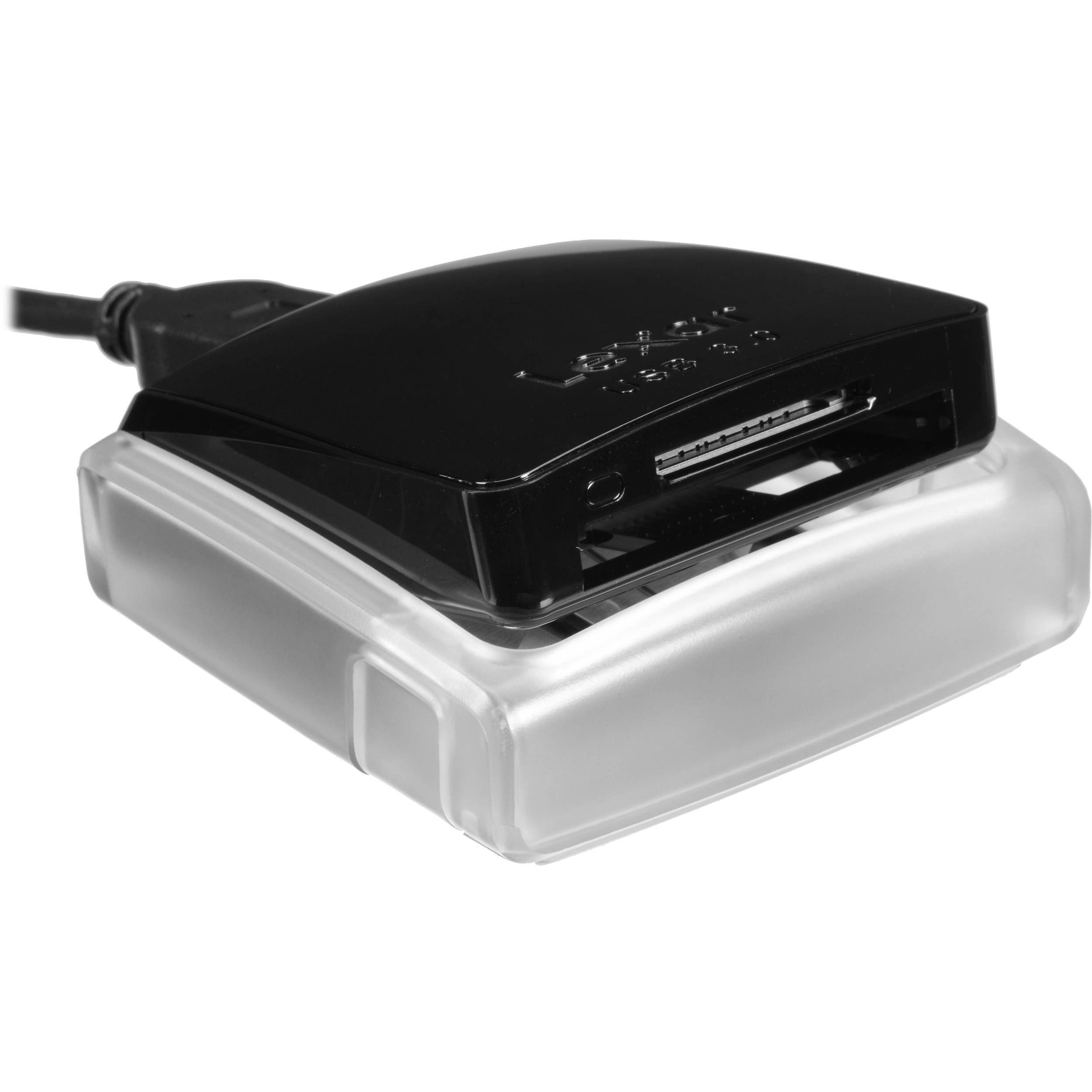 Lexar Professional Usb 3 0 Dual Slot Reader Udma 7 Usb Nikon