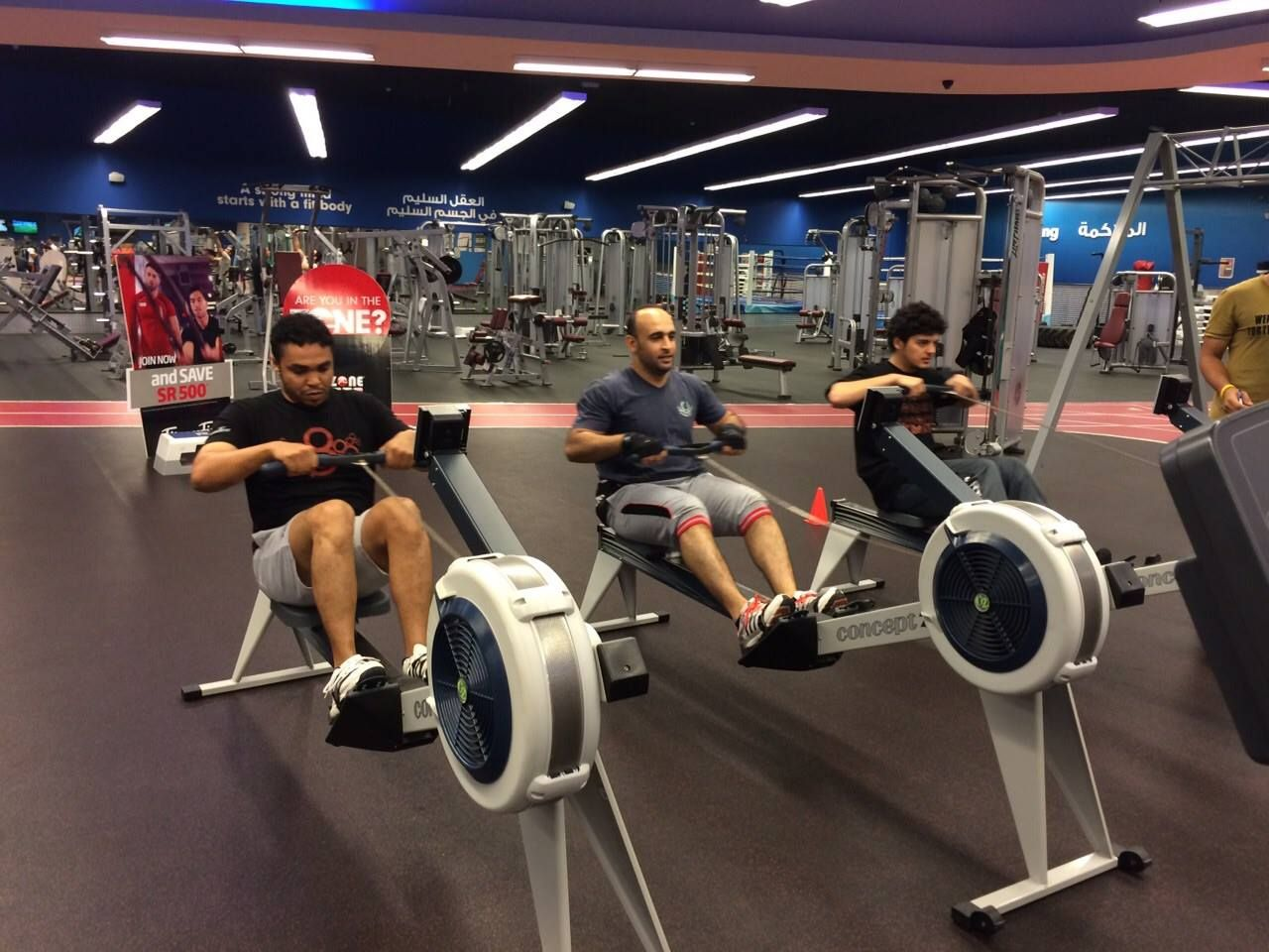 Neoflex series fitness flooring first jeddah