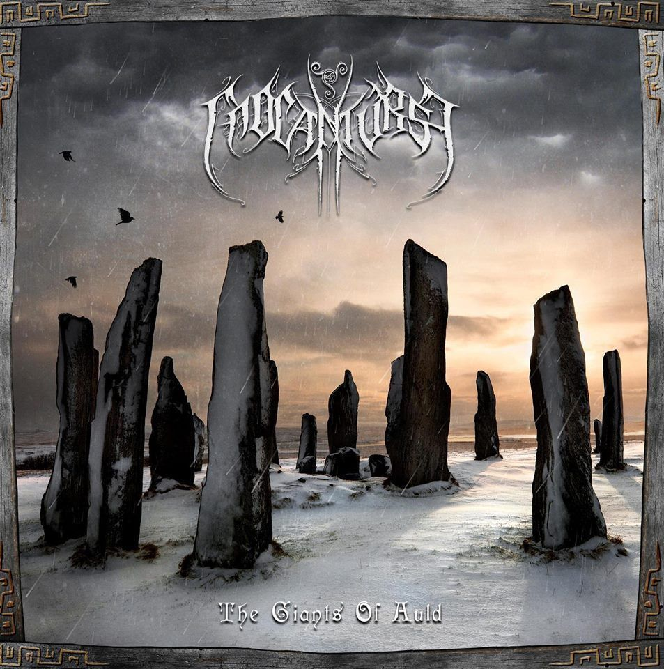 Cd del grupo Cnoc An Tursa - THE GIANTS OF AULD - Celtic Black Metal ...