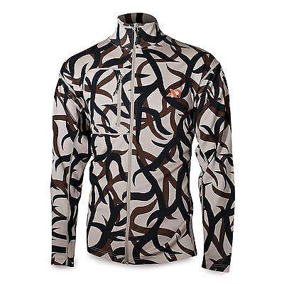 094b781cfec86 First Lite Men's Labrador Full Zip 400g Merino Sweater ASAT Camo Size  X-Large