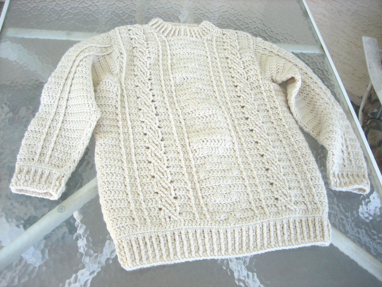 knitted sweater for beginners | Summary A nearly seamless baby ...