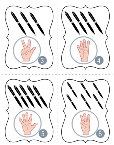 American Sign Language Letters And Numbers For Speech Therapy