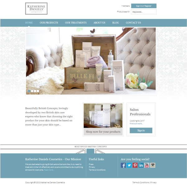 We're so excited to tell you that our website is now live! Click on the link for more information about our beautifully British concept and browse our web shop #britishbrand #beauty #skincare #katherinedaniels