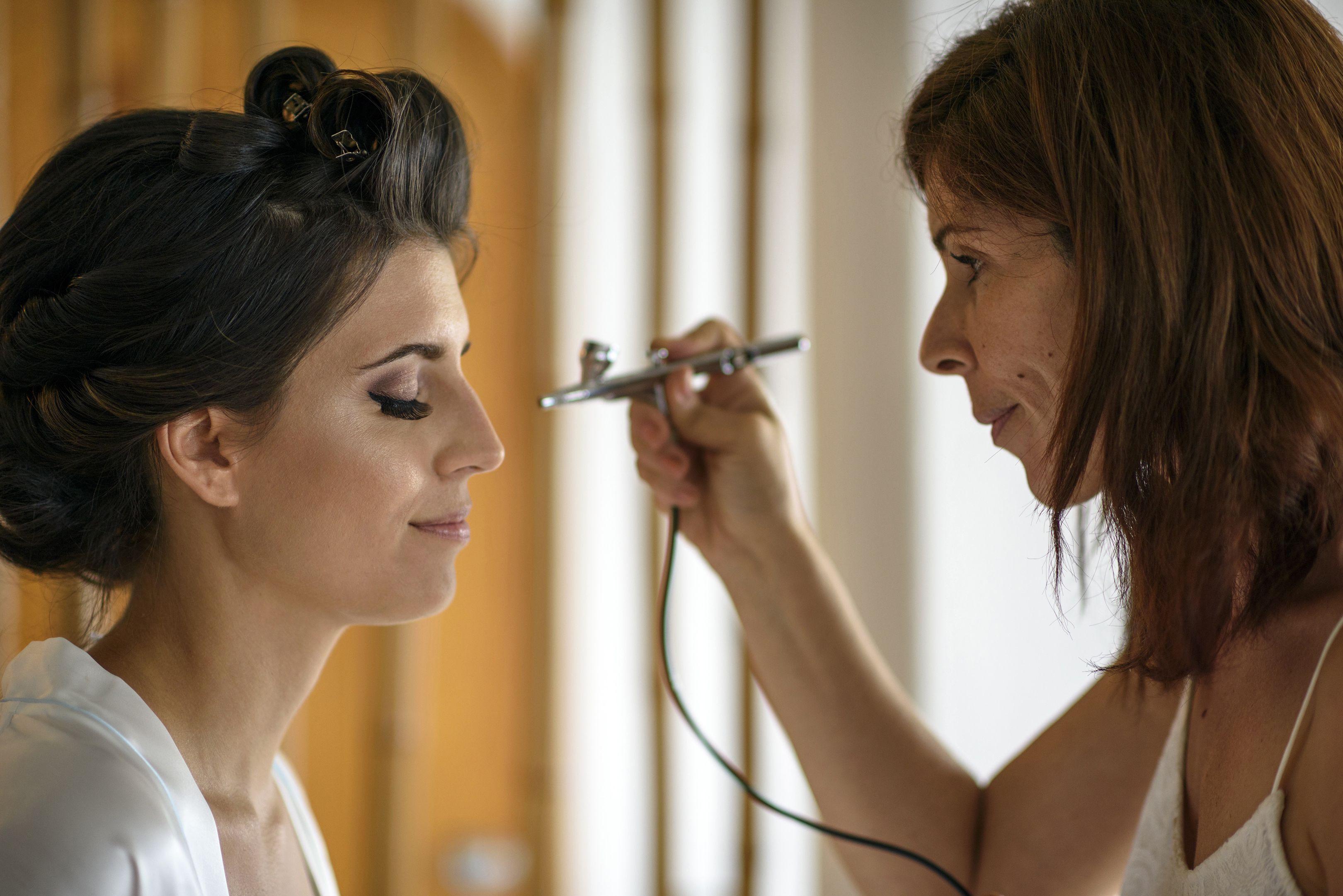 puerto vallarta wedding makeup. airbrush makeup by irene