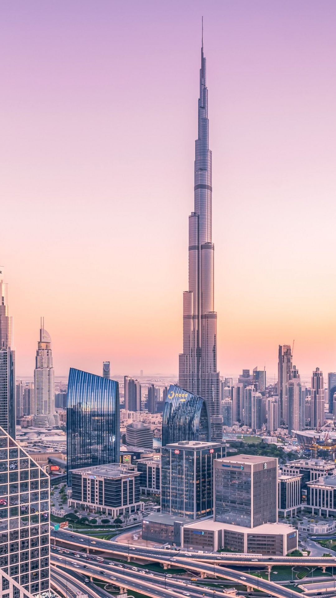 1080x1920 Dubai Urban Town Buildings Cityscape Wallpaper