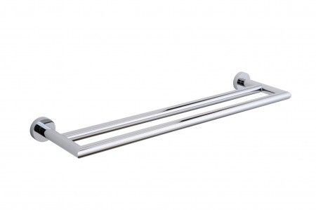 Towel Bar Double 18 Model 144182 Oslo Collection Kartners Bathroom Fixturestowel
