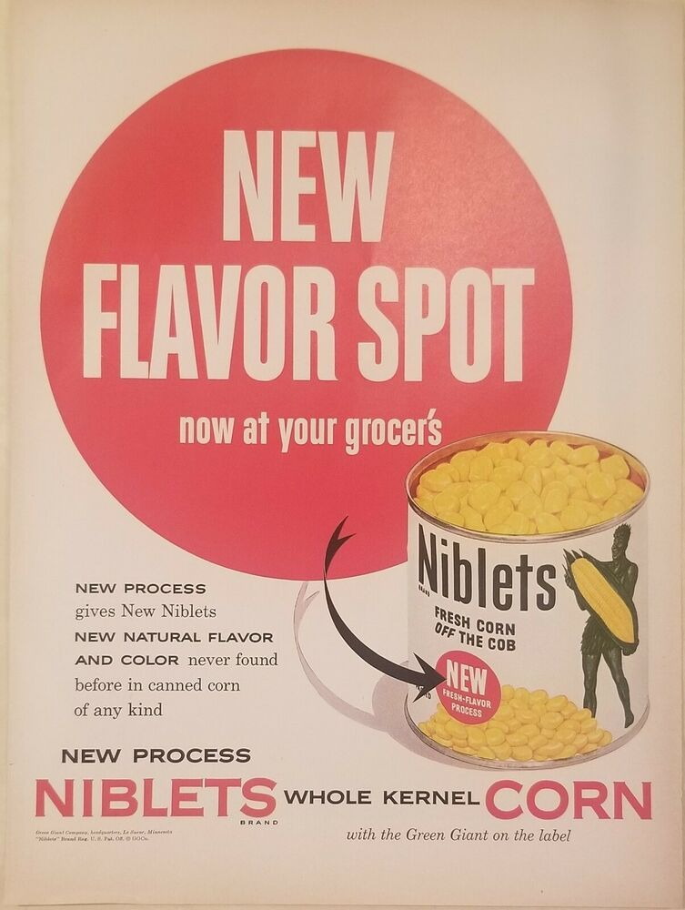 Original Green Giant Advertisement 1948