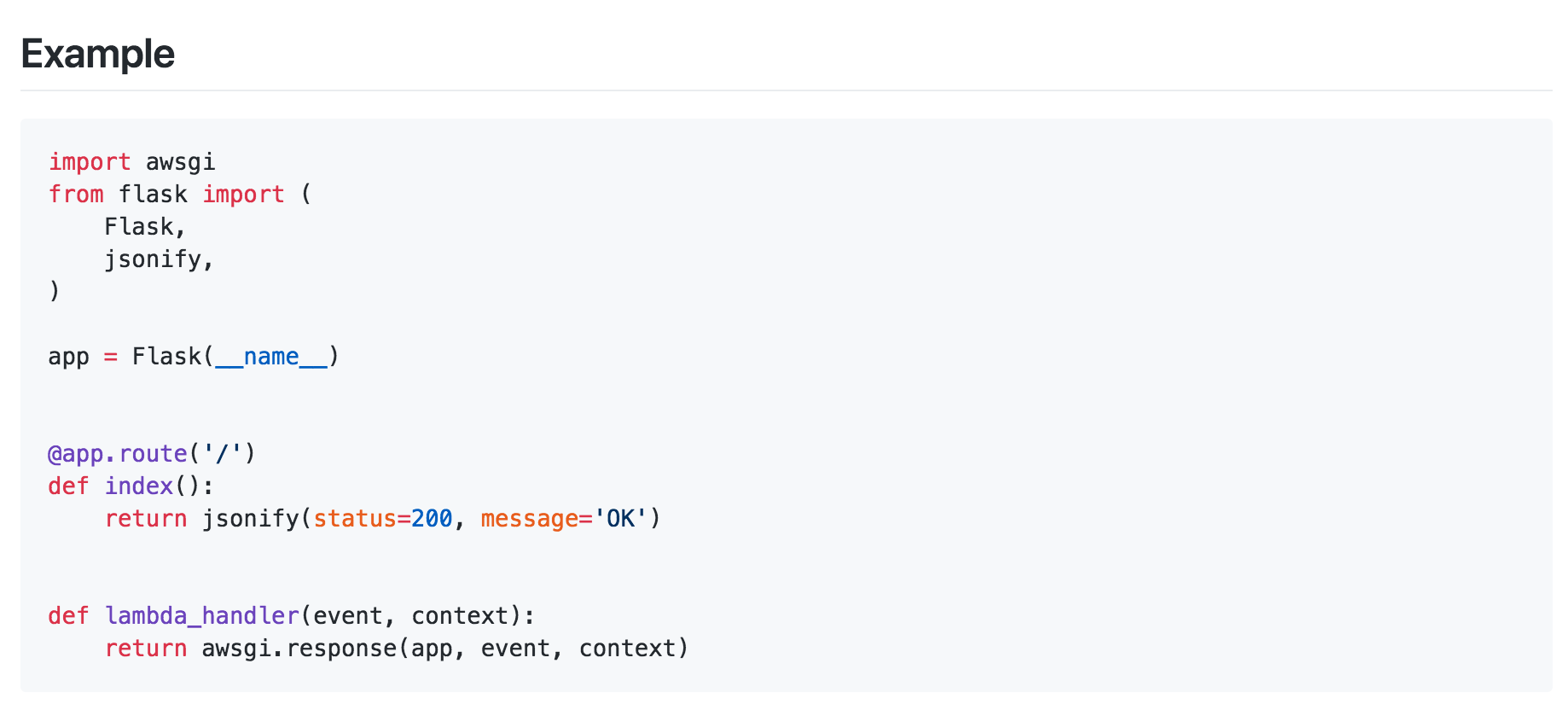 Serverless Python Web Applications With AWS Lambda and Flask