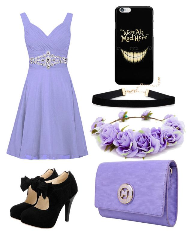 Purple prom by hannahefoster233 on Polyvore featuring polyvore, fashion, style, Metrocity, Forever 21 and clothing