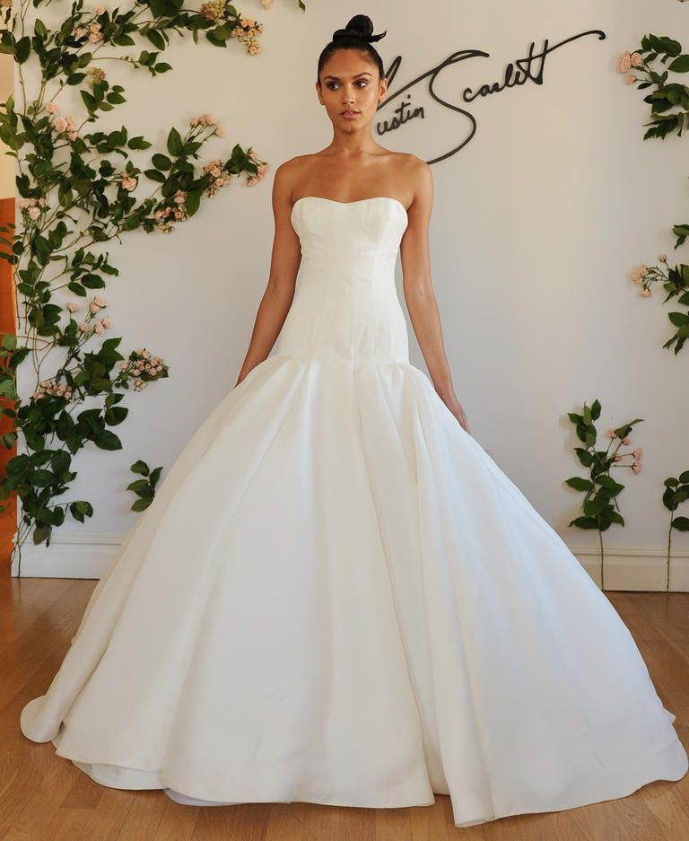 Austin Scarlett Shows Modern Wedding Dresses For Fall 2016