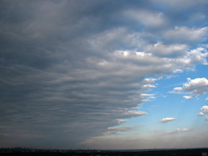 Stratocumulus Clouds Are Uniform Grayish Clouds That Often Cover The Entire Sky Clouds Sky Weather