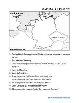 Touring Germany: Week 1 | Germany | Lesson plans, Germany