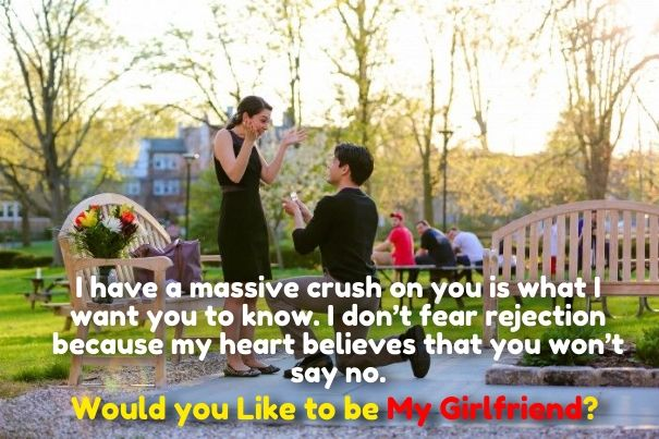 ways to ask a girl to be your girlfriend | Cute Love Quotes for