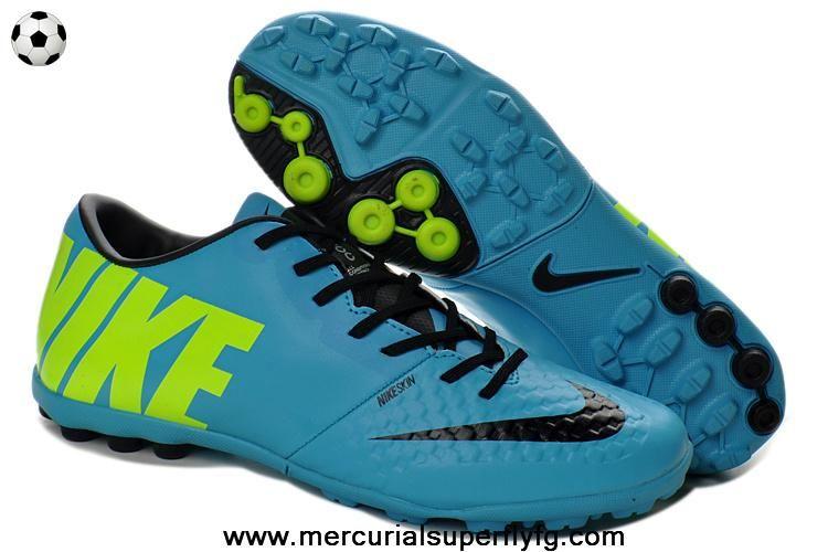 (Current Blue/Black/Volt) Nike Bomba Finale II T5 Sale Online