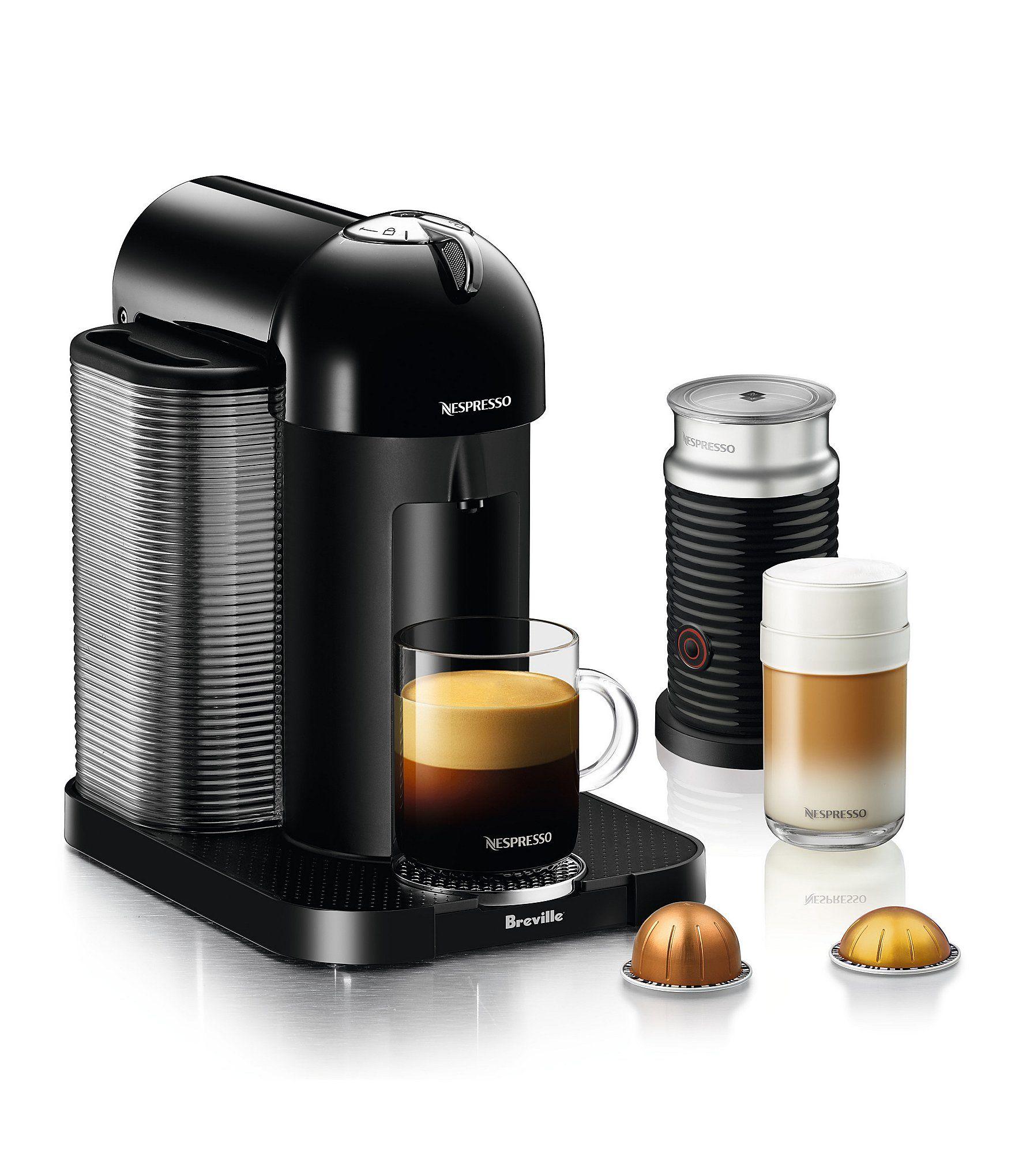 Nespresso Citiz & Milk Espresso Maker Black Capsule
