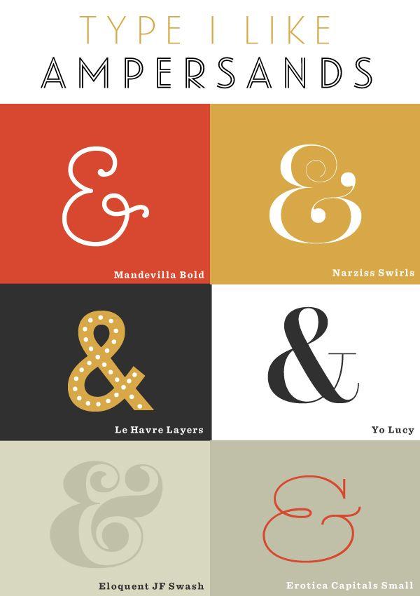 Type I Like Amperands Studio 404 Paper Graphic Design Fonts Interior Design And Graphic Design Typography Invitation